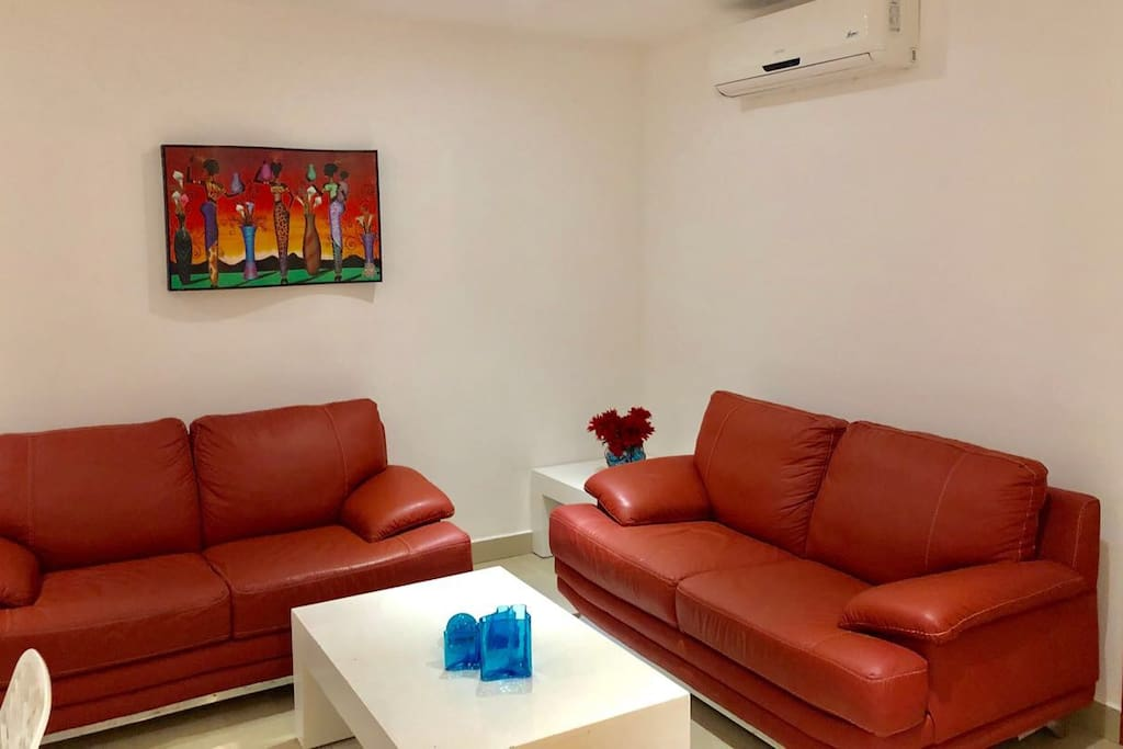air conditioned 3 bedroom plus living room