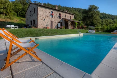 Family Holiday Home with pool - San Venanzo (Terni) - Villa