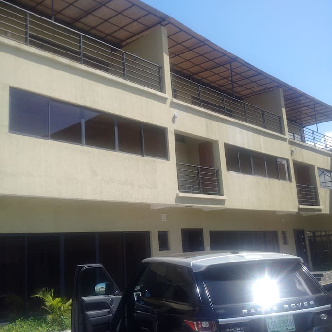 The apartment front view