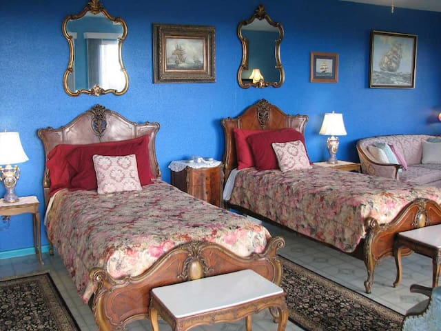Ocean Blue Twin Suite with a View - Pāhoa - Bed & Breakfast