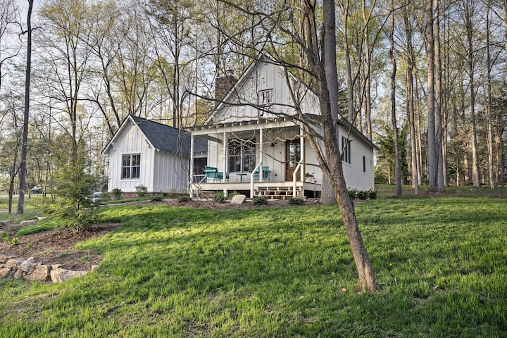 Andersonville House 1-Min Walk from Norris Lake!
