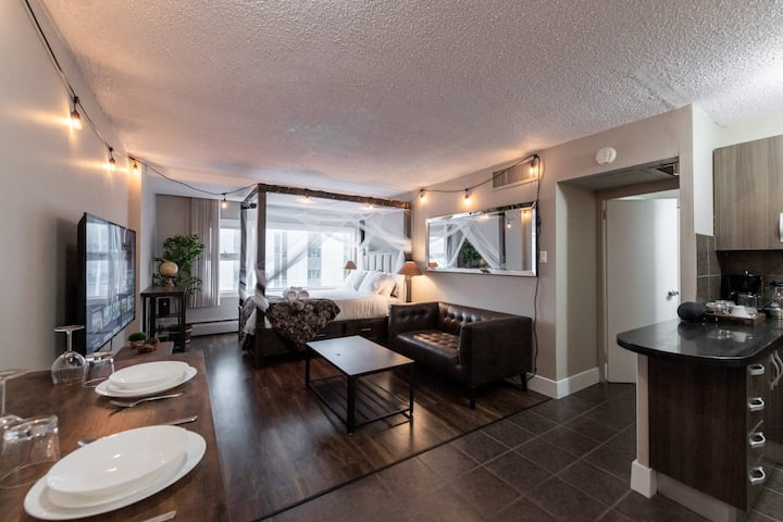 Bachelor Suite with *FREE Parkade* 😃