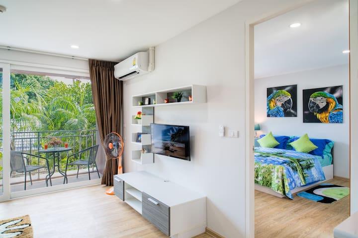 Exotic 1 bedroom apartment @Kata, beach - 900 m
