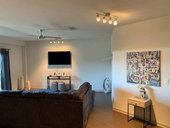 Large condo with open floor plan on South Lamar