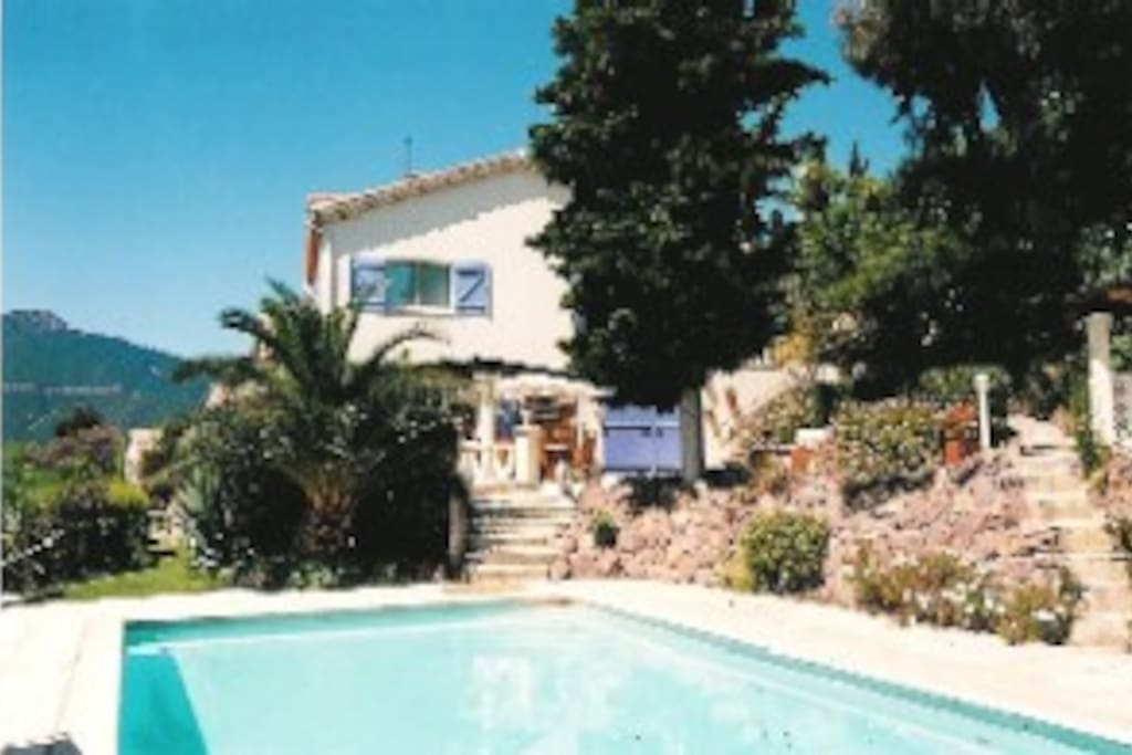 Pool and main villa