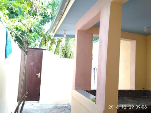 Lovely apartment with two beds toilet and kitchen