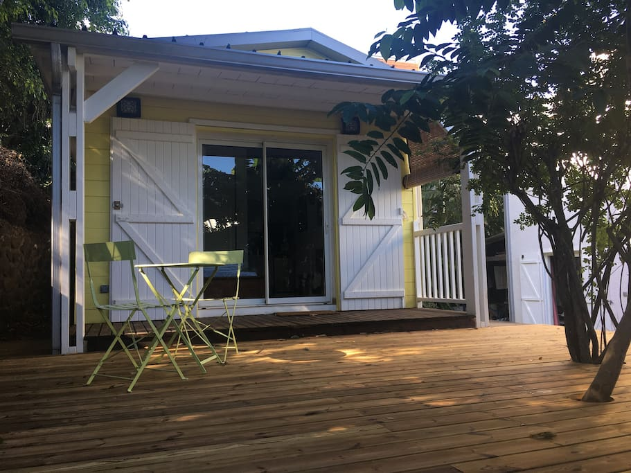 Bungalow avec piscine aux avirons bungalow in affitto a for Piani di casa del bungalow del sud