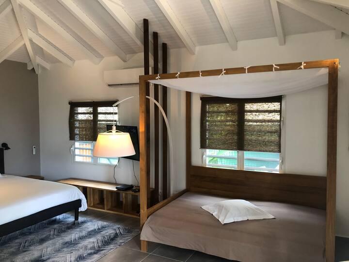 EDEN FOREST VILLA Bungalow de luxe spa VANILLE