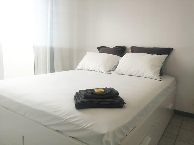 Appartement Confort(12)- Tout équipé - Clim Wifi