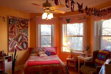 Stay in Tropical Candy Land - Boston