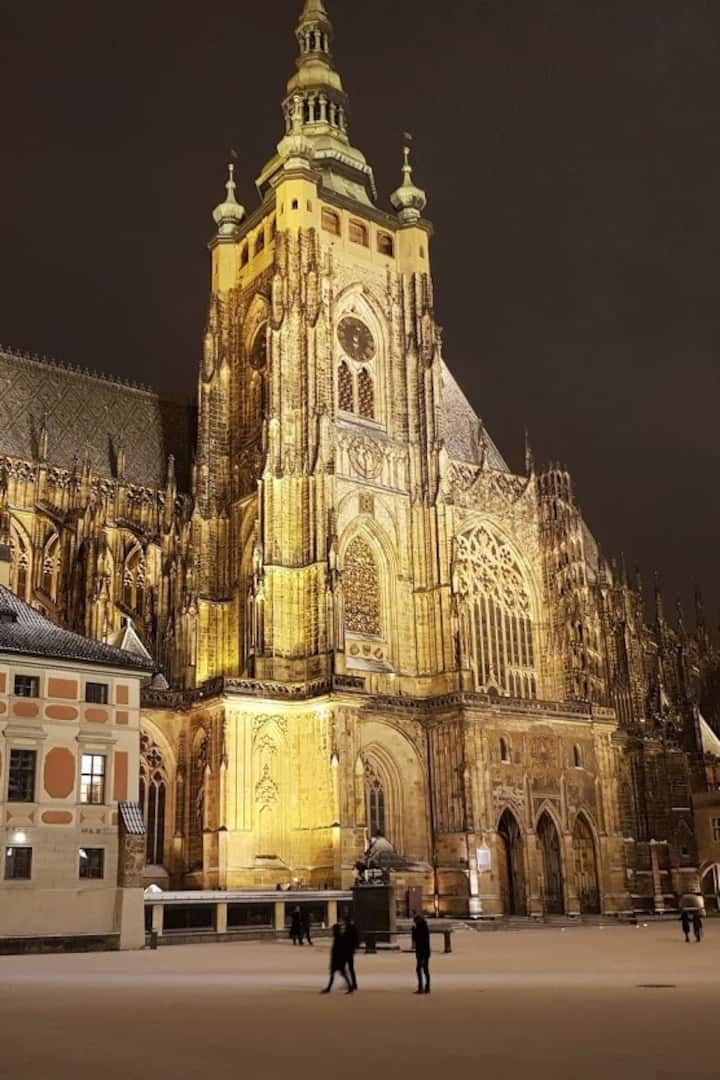 St. Vitus cathedral from South