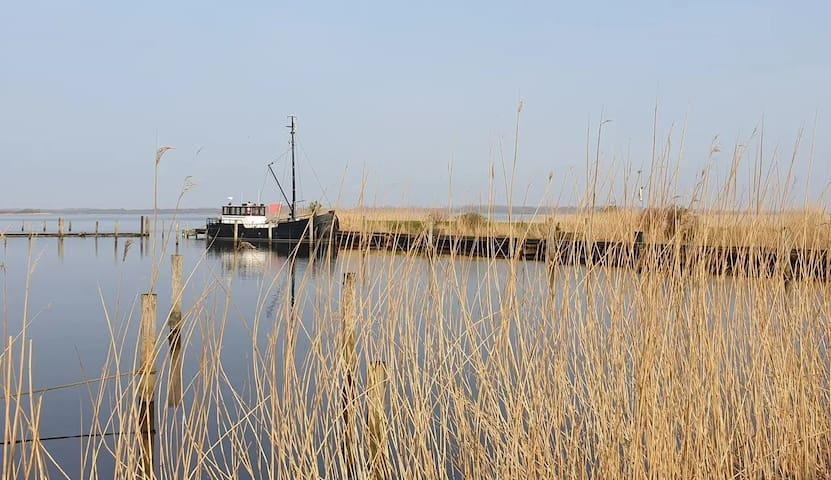 Kooi & Kombuis (boot) - Cabin & Galley (boat)