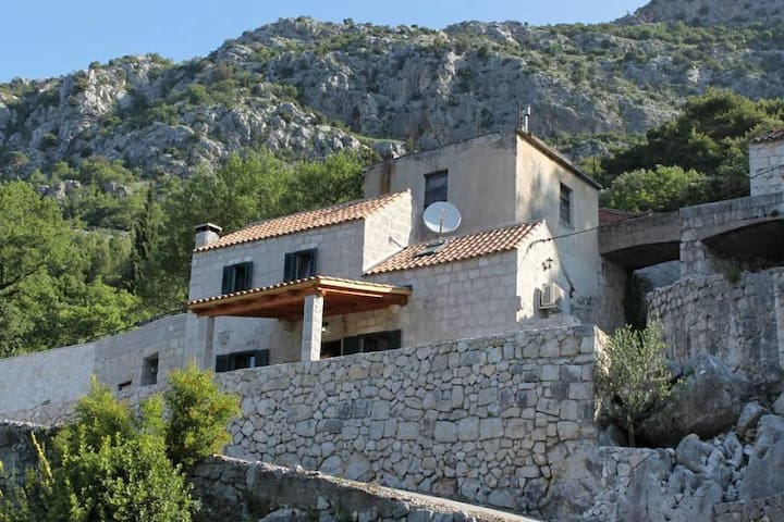 Two bedroom house with terrace and sea view Mihanići, Dubrovnik (K-9029) - Mihanići - Lainnya