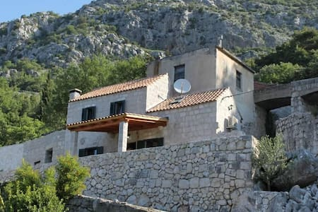 Two bedroom house with terrace and sea view Mihanići, Dubrovnik (K-9029) - Mihanići