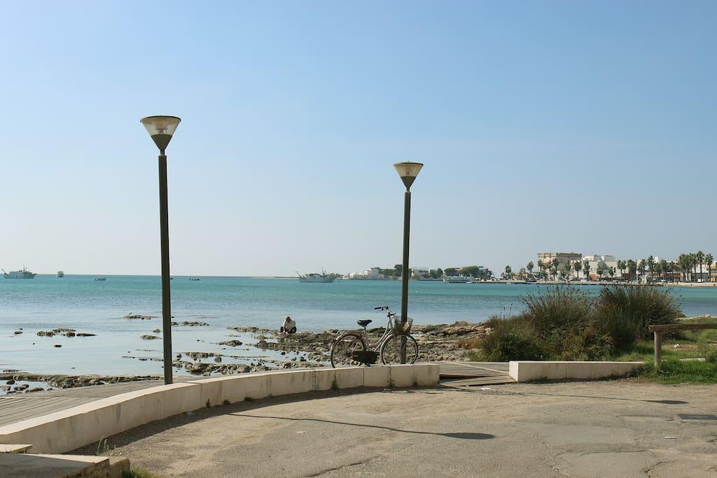 Vista mare dalla terrazza