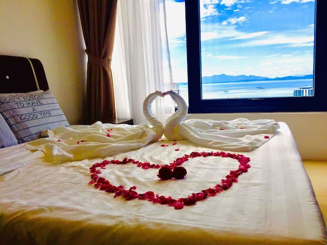 Bedroom for honeymoon couple