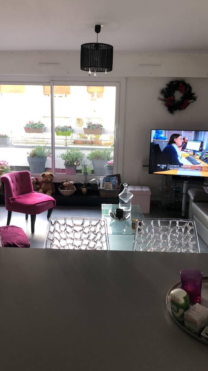 Magnifique appartement hyper centre avec terrasse