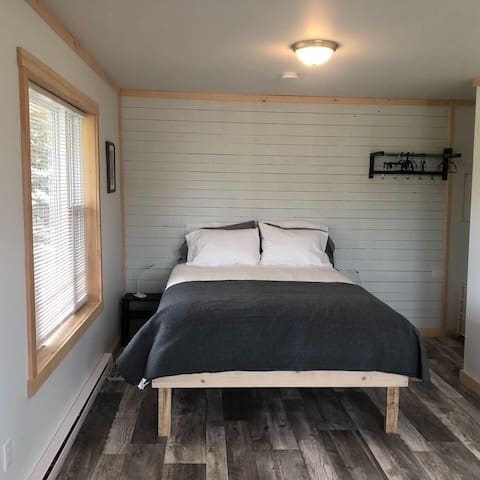 Check out our cosy cottage-Aurora!! At The Spruces