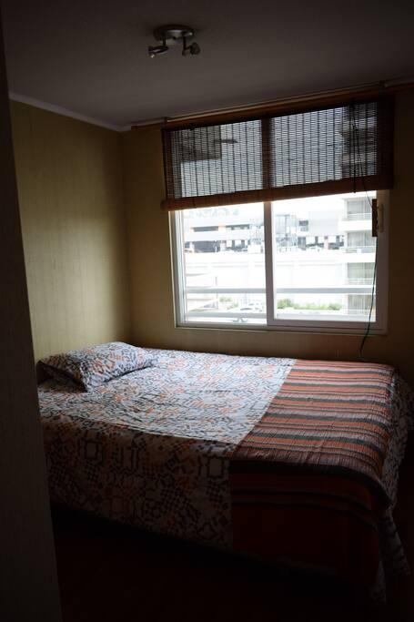 Habitación con cama de 2 plazas