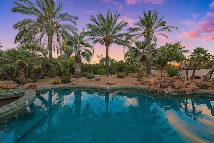 New Listing! Lavish Home w/ Pool & Tennis Court