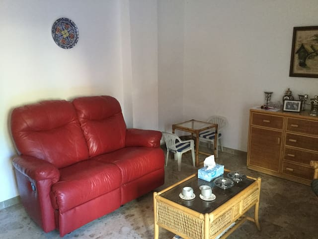 Lovely modern apartment in the center of village