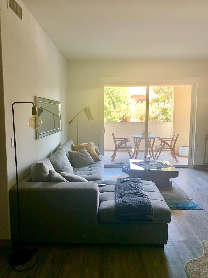 Modern Dual Master Bedroom