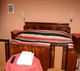 Hutasori vendégház - Földszinti franciaágyas szoba - Mátraballa