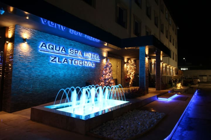 Come and unwind in our luxurious Aqua Spa Hotel.