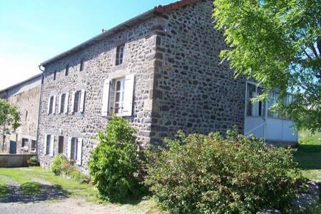 Beau gîte en pierres 7 pers (St Flour- le Lioran)