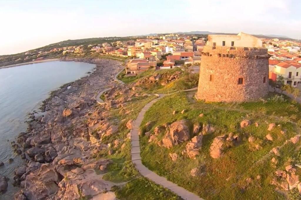 La torre di Portoscuso