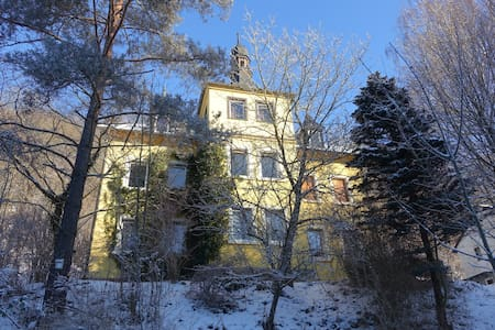Sunny flat in Villa near castle and city center - Kulmbach - Casa de camp