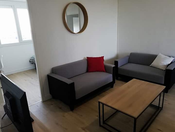 Belle chambre spacieuse