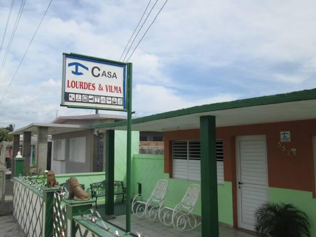 Casa Lourdes y Vilma - Habitación - 1 - Playa Giron - Huis
