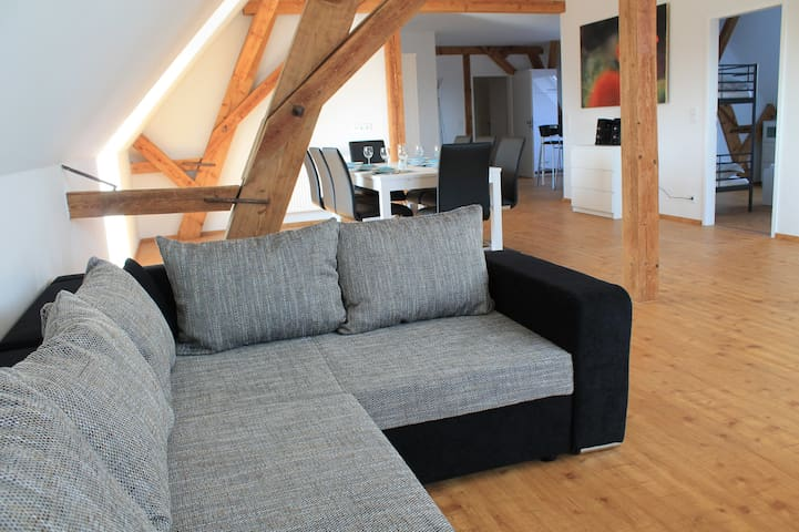 Neue große Ferienwohnung im Elsass - Artolsheim - Appartement