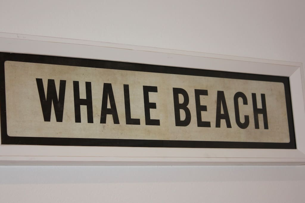 A short walk for the energetic or a moments drive to Whale Beach