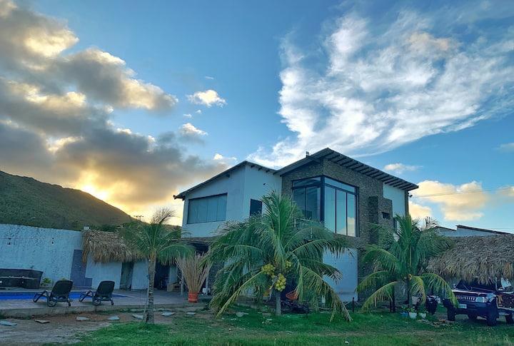 Casa Vacacional en Playa El Agua