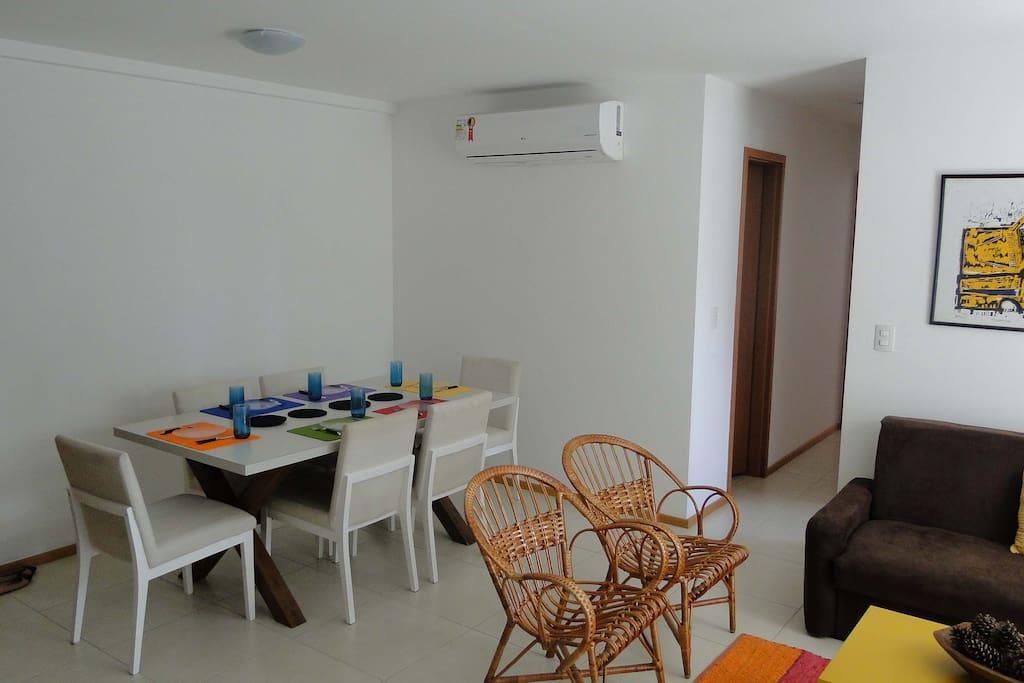 Sala  espaço para refeições
