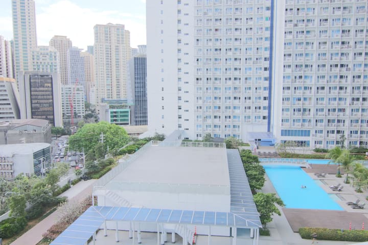 SM Jazz 1BR Perfect View Fast Wifi+Washer