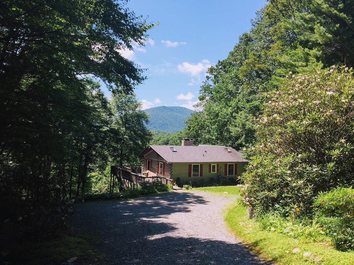 Secluded Retreat   Log Cabin In Ashe County, NC   Houses For Rent In West  Jefferson, North Carolina, United States