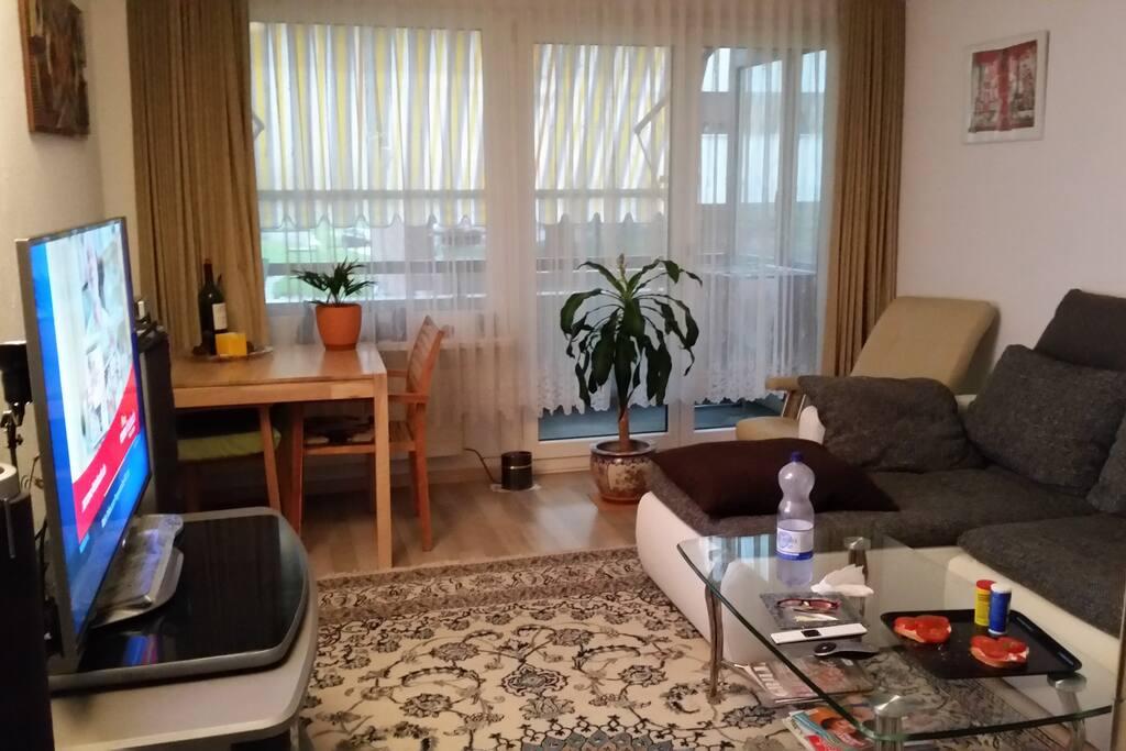 Gemütliches und bequemes  Wohnzimmer