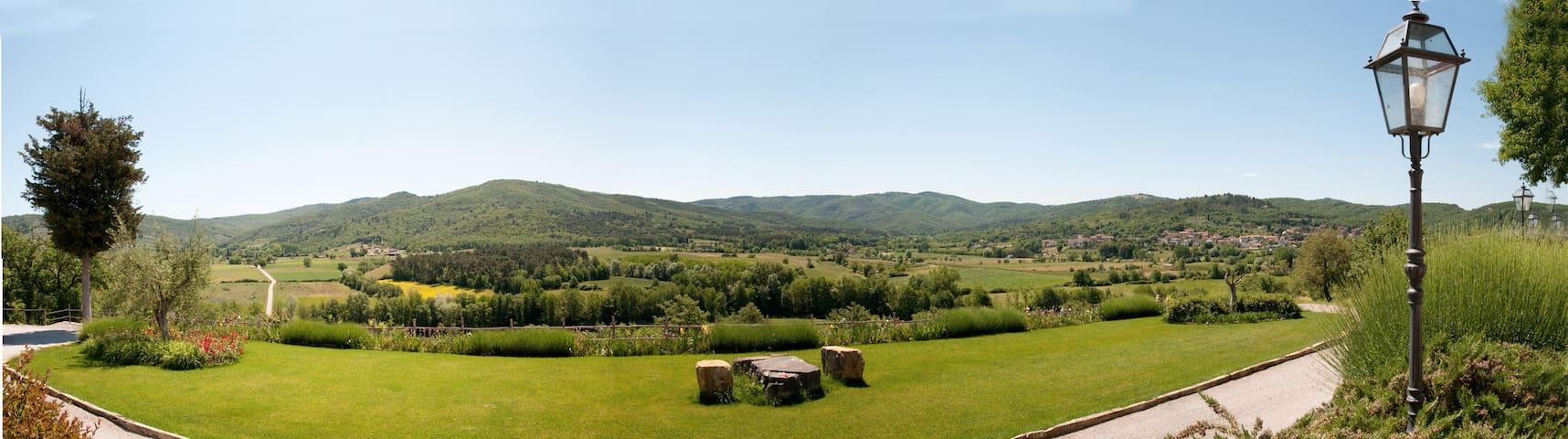 Vista sulla campagna