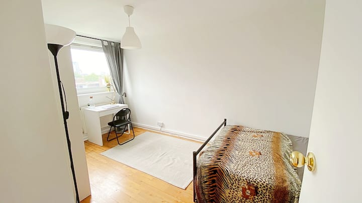 Big Central London double room, view to London Eye