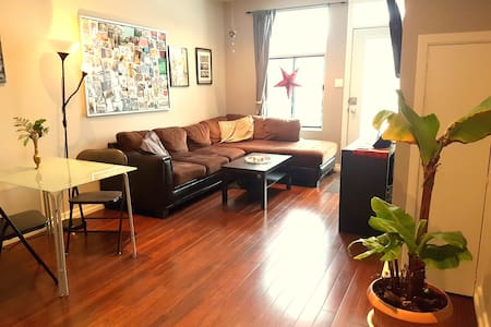 Beautiful & cozy Appartment + great location! - Montréal - Huoneisto