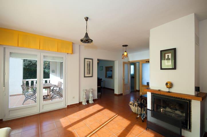 Villa para 11 personas cerca de Segovia - Los Ángeles de San Rafael - Huis