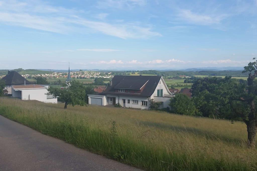 Villa Styl with nice view in calm neibourhood