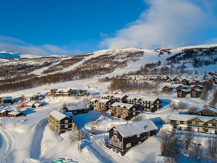 Toppleilighet, Oppdal Alpintun- Ski in/ Ski out