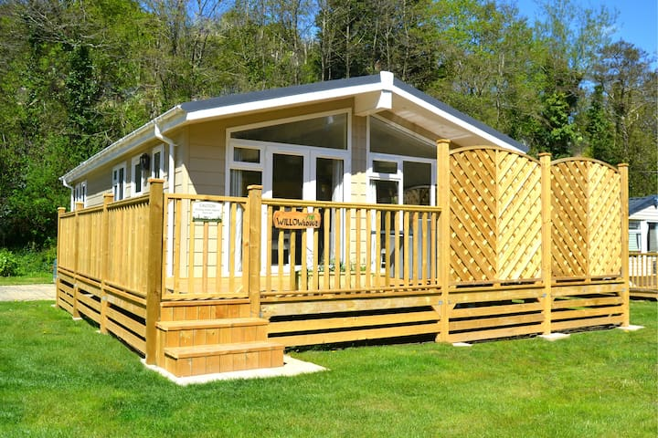 Three Bed Luxury Lodge in Hele Bay, Ilfracombe