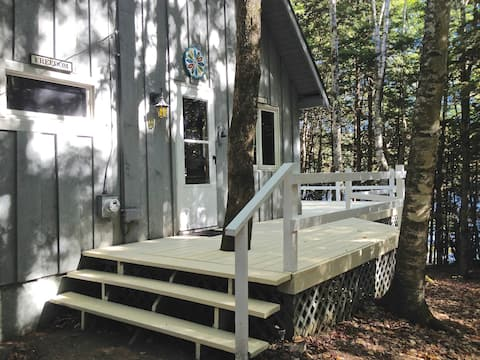 Cozy Lakefront Cabin in Freedom, ME
