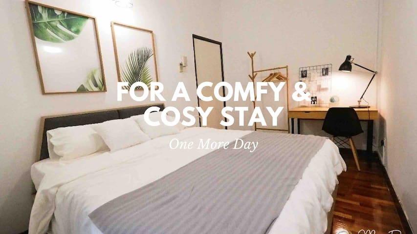 ☆ Comfy Room 01 ☆ 5 Mins Walk To Curve, MRT, IKEA