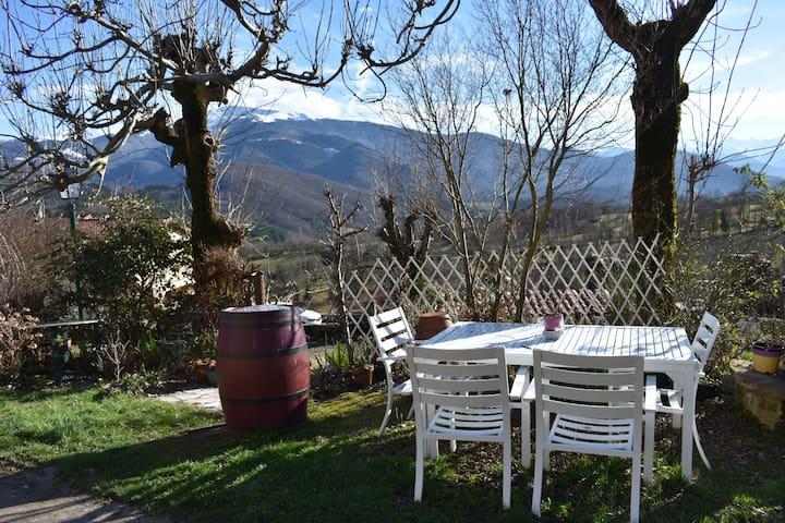 Loue Logement à Caraybat au pied des Pyrenées